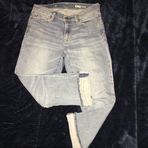 Gap cropped jeans